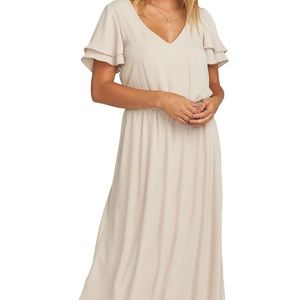 Show me your mumu Michelle maxi crisp wedding